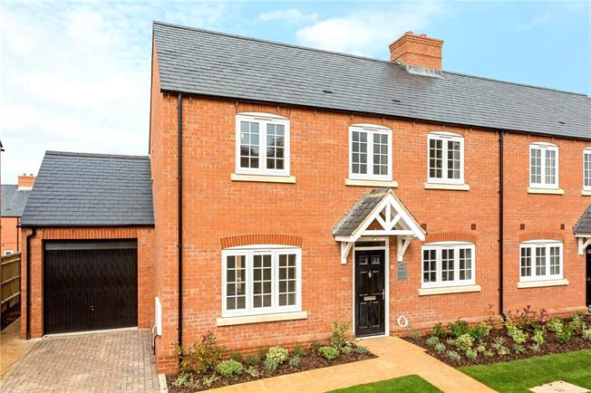 Asking Price £385,000, 3 Bedroom Semi Detached House For Sale in Banbury, Oxfordshire, OX17