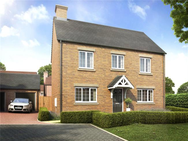 Guide Price £465,000, 4 Bedroom Detached House For Sale in Banbury, Oxfordshire, OX17