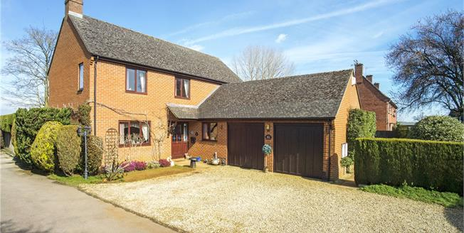 Offers in excess of £500,000, 4 Bedroom Detached House For Sale in Twyford, OX17