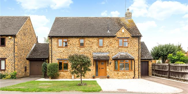 Offers in excess of £500,000, 4 Bedroom Detached House For Sale in Barford St. Michael, OX15
