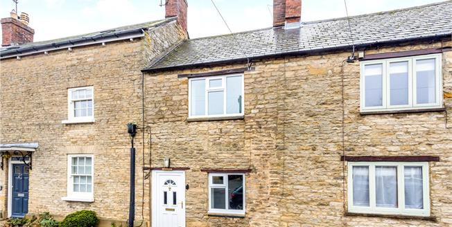 Guide Price £295,000, 2 Bedroom Terraced House For Sale in Souldern, OX27