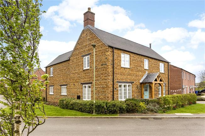Guide Price £470,000, 4 Bedroom Detached House For Sale in Banbury, Oxfordshire, OX15