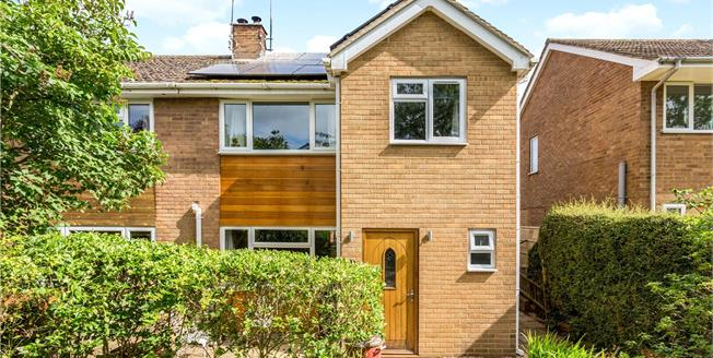 Guide Price £330,000, 3 Bedroom Semi Detached House For Sale in Duns Tew, OX25