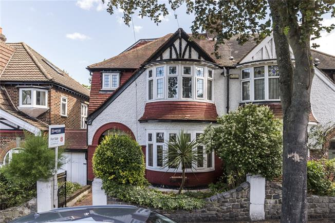 Asking Price £800,000, 4 Bedroom Semi Detached House For Sale in London, SE19