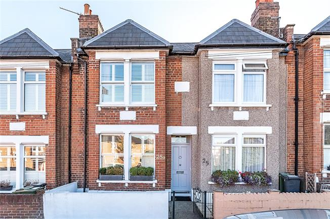 Asking Price £625,000, 2 Bedroom House For Sale in London, SE27