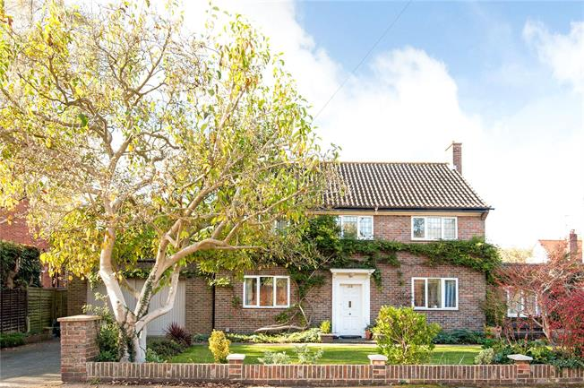 Offers in excess of £950,000, 4 Bedroom Detached House For Sale in Epsom, KT18