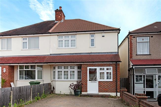 Offers in excess of £500,000, 3 Bedroom Semi Detached House For Sale in Cheam, SM3