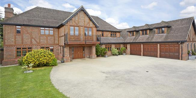 Guide Price £2,295,000, 6 Bedroom Detached House For Sale in Epsom, KT18