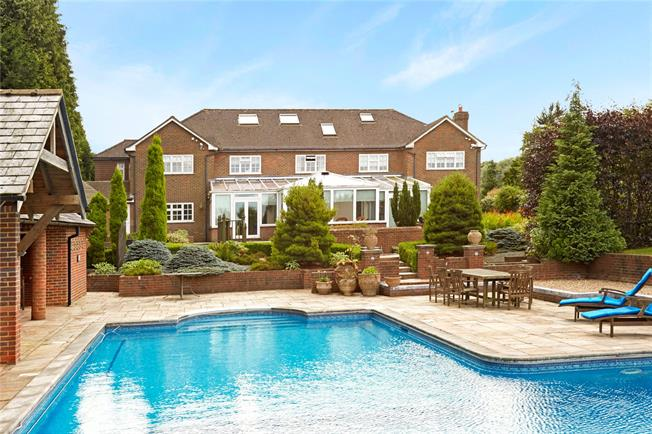 Guide Price £2,750,000, 5 Bedroom Detached House For Sale in Lower Kingswood, KT20