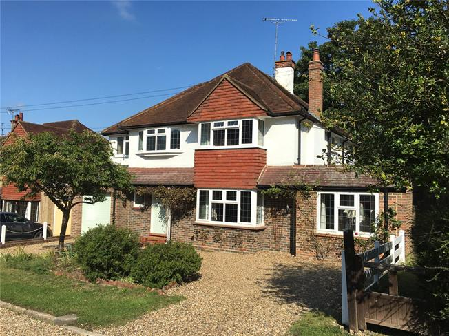 Guide Price £1,150,000, 5 Bedroom Detached House For Sale in Epsom, KT18