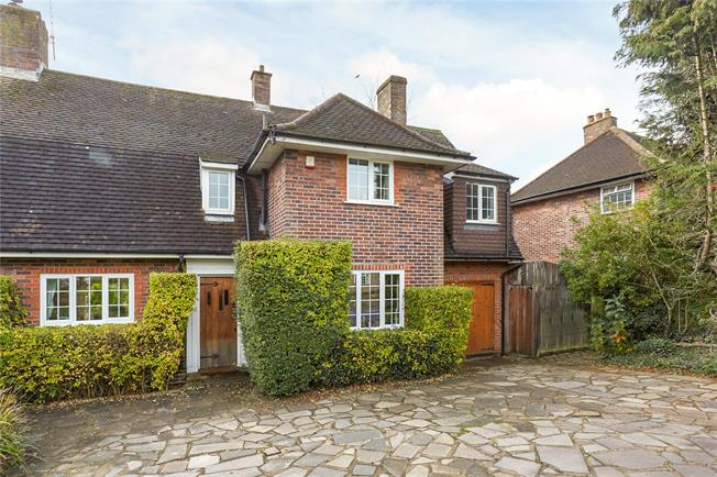 Asking Price £665,000, 4 Bedroom Semi Detached House For Sale in Burgh Heath, KT20