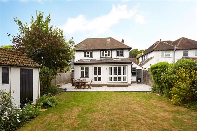 Asking Price £925,000, 3 Bedroom Detached House For Sale in Surrey, KT18