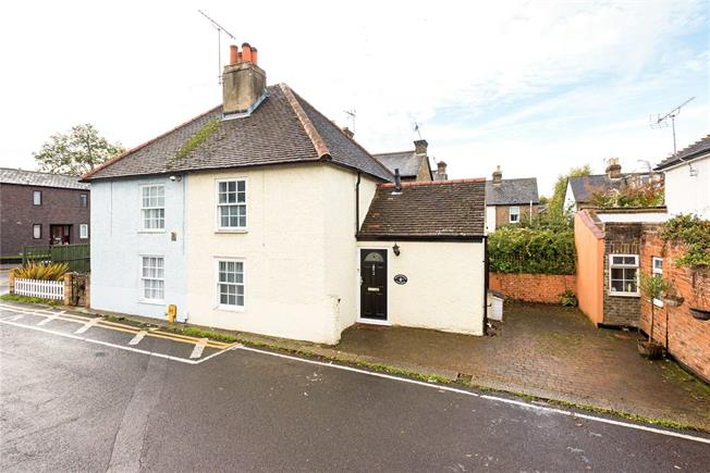 Guide Price £340,000, 2 Bedroom End of Terrace House For Sale in Epsom, KT17