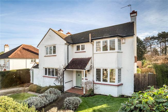 Asking Price £950,000, 4 Bedroom Detached House For Sale in Surrey, KT19