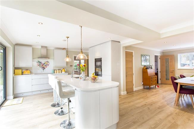 Asking Price £900,000, 4 Bedroom Detached House For Sale in Epsom, KT18