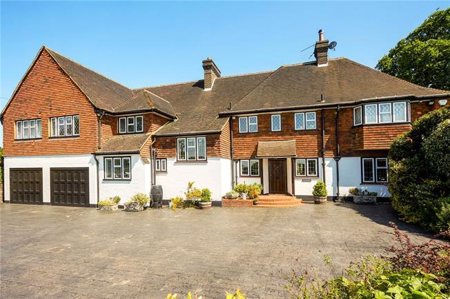 Asking Price £1,650,000, 6 Bedroom Detached House For Sale in Surrey, KT18