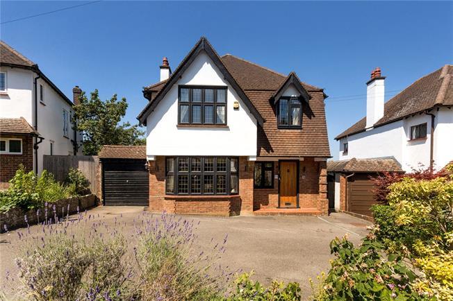 Asking Price £850,000, 4 Bedroom Detached House For Sale in Epsom, KT18