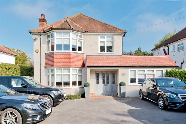Asking Price £1,000,000, 4 Bedroom Detached House For Sale in Epsom, KT17