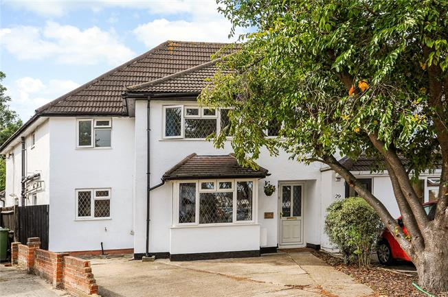 Asking Price £700,000, 4 Bedroom Semi Detached House For Sale in Epsom, KT19