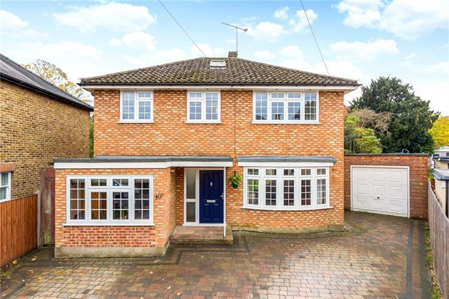 Offers in excess of £750,000, 4 Bedroom Detached House For Sale in Surrey, KT17