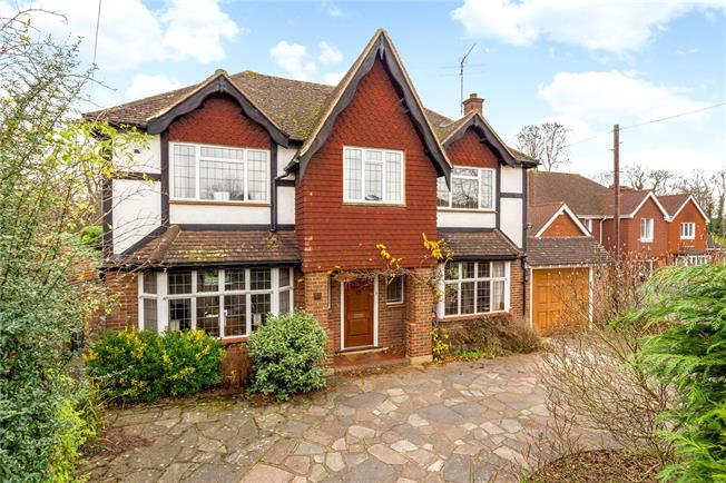 Offers in excess of £900,000, 4 Bedroom Detached House For Sale in Epsom, KT17