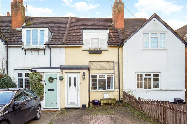 Guide Price £370,000, 2 Bedroom Terraced House For Sale in Burgh Heath, KT20