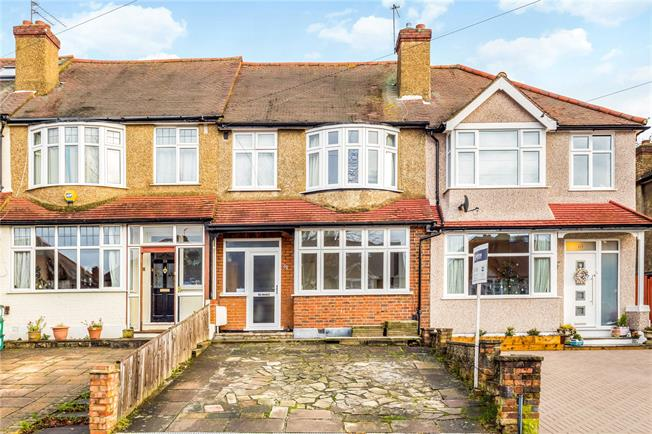 Asking Price £520,000, 3 Bedroom Terraced House For Sale in Worcester Park, KT4