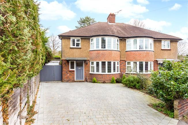 Asking Price £650,000, 3 Bedroom Semi Detached House For Sale in Epsom, KT18