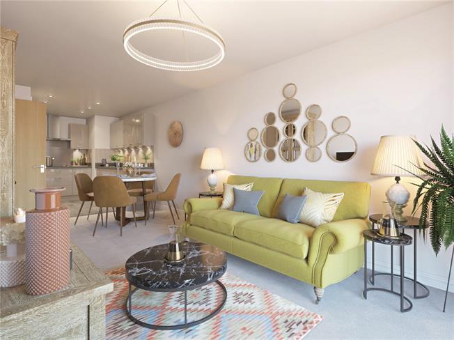 Asking Price £293,000, 1 Bedroom Flat For Sale in Ewell, Epsom, KT17