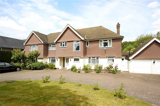 Guide Price £1,600,000, 6 Bedroom Detached House For Sale in Cheam, SM2