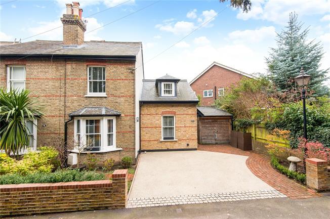 Asking Price £740,000, 3 Bedroom Semi Detached House For Sale in Epsom, KT17
