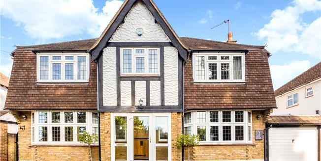 Asking Price £900,000, 4 Bedroom Detached House For Sale in Surrey, KT18