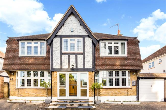 Asking Price £900,000, 4 Bedroom Detached House For Sale in Surrey, KT18