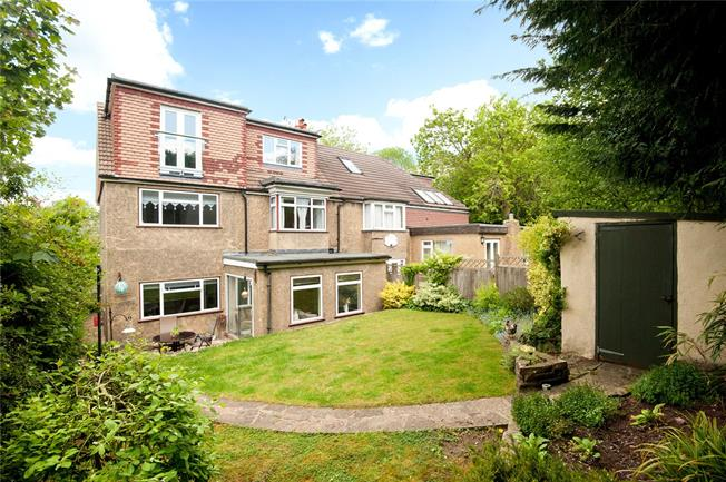 Offers in excess of £625,000, 5 Bedroom Semi Detached House For Sale in Epsom, KT18