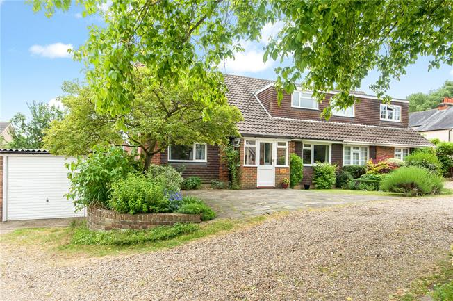 Asking Price £650,000, 4 Bedroom Semi Detached House For Sale in Surrey, KT18