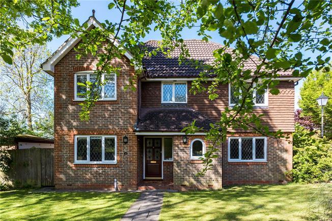 Asking Price £765,000, 4 Bedroom Detached House For Sale in Surrey, KT20