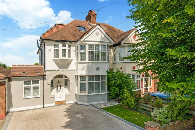 Asking Price £865,000, 5 Bedroom Semi Detached House For Sale in Surrey, KT4