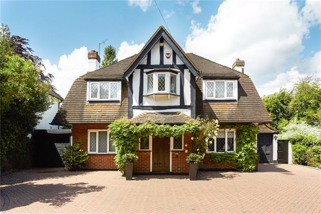 Asking Price £950,000, 4 Bedroom Detached House For Sale in Epsom, KT17
