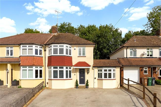 Offers in excess of £600,000, 4 Bedroom Semi Detached House For Sale in Surrey, KT20