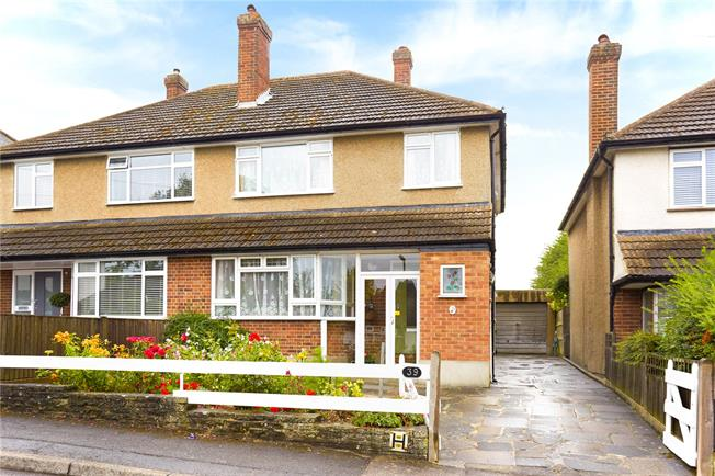 Offers in excess of £500,000, 3 Bedroom Semi Detached House For Sale in Surrey, KT17