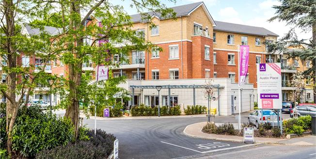 Asking Price £337,500, 1 Bedroom Flat For Sale in Weybridge, KT13