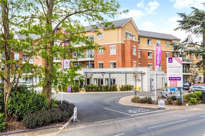 Asking Price £337,500, 1 Bedroom Flat For Sale in Weybridge, KT13