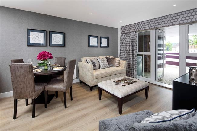 Asking Price £325,000, 1 Bedroom Flat For Sale in Surrey, GU7