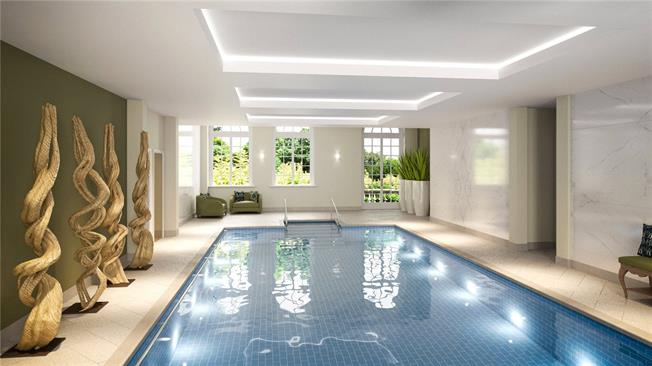 Asking Price £749,950, 2 Bedroom Flat For Sale in Egham, Surrey, TW20