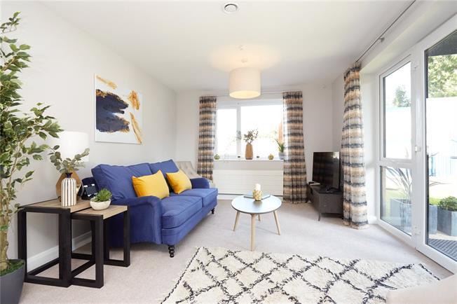 Asking Price £290,000, 1 Bedroom Flat For Sale in Ewell, Epsom, KT17