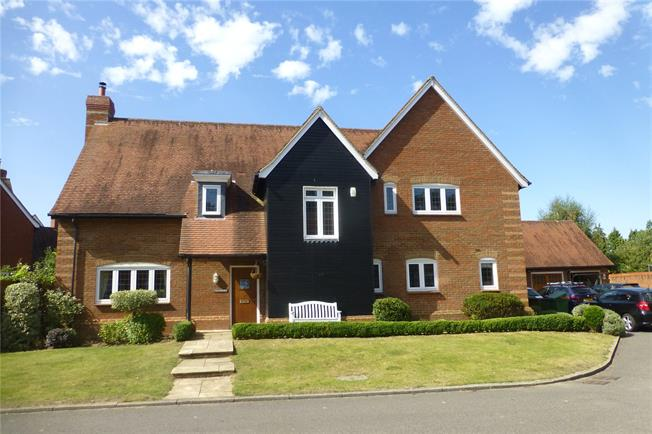 Guide Price £1,150,000, 4 Bedroom Detached House For Sale in Surrey, RH3