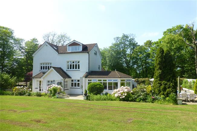 Guide Price £1,475,000, 5 Bedroom Detached House For Sale in Dorking, Surrey, RH5