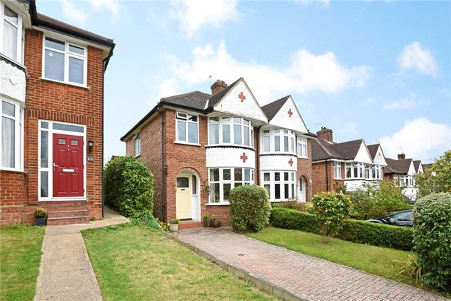 Guide Price £530,000, 3 Bedroom Semi Detached House For Sale in Dorking, RH4