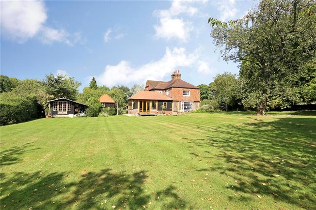 Guide Price £1,295,000, 5 Bedroom Detached House For Sale in Walliswood, Surrey, RH5