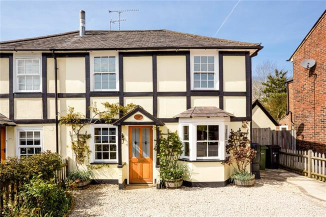 Guide Price £525,000, 3 Bedroom Semi Detached House For Sale in Dorking, Surrey, RH5